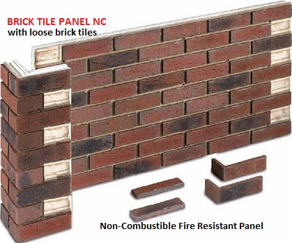 Brick Panels Non Combustible